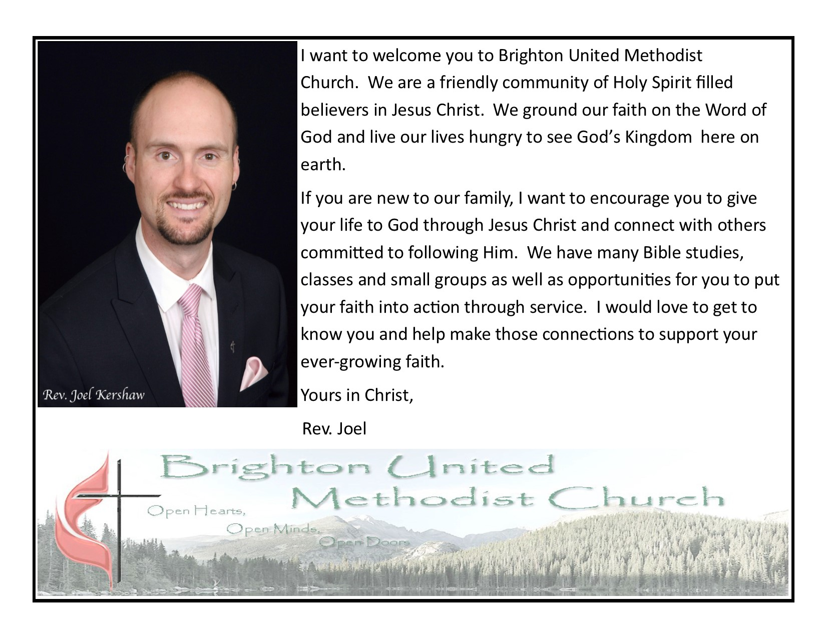 Brighton United Methodist Church | Serving the Brighton area for